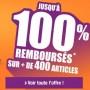 Articles jusqu'à 100% remboursés en bons d'achat [Terminé]