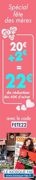 22€ de réduction dès 40€